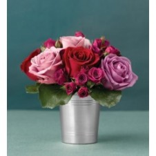 Mixed Holland Imported Roses and Local Roses in a Vase