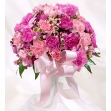 20 Pcs Mixed Carnations in a Bouquet