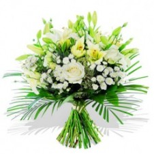 White Flowers in a Bouquet