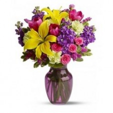 Wonderful Flowers in a Vase