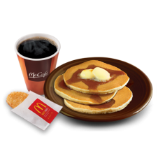 3pcs Hotcakes by Mc Donalds