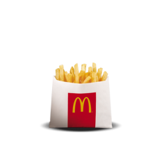 Regular Fries by Mc Donalds by Mc Donalds