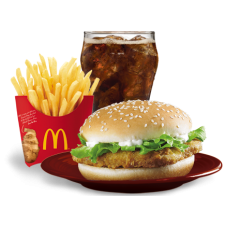 Mc Chicken Sandwich by Mc Donalds