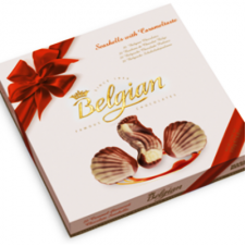 Belgian Seashells Caramel 250 g.