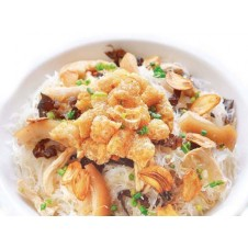 Pancit Puti with Toasted Garlic by Amber