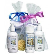 Bath Products in a Basket 1