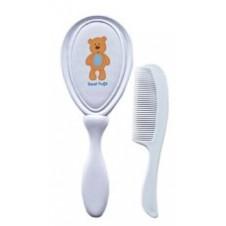 Printed Baby Brush & Comb Set