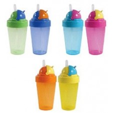 Flip Top Straw Cup (1pc)