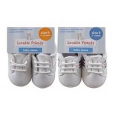 Plain Design Baby Shoes (1 Pair)