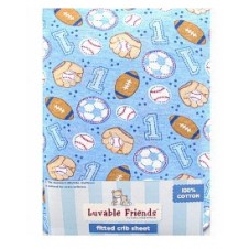 Baby Theme Fitted Crib Sheet