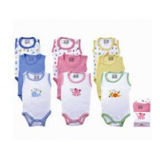 1 Pack Sleeveless Bodysuit (3pcs)