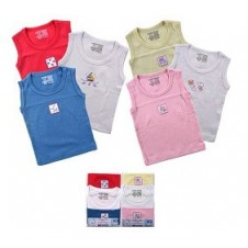 1 Pack Sleeveless Baby Tee (3pcs)