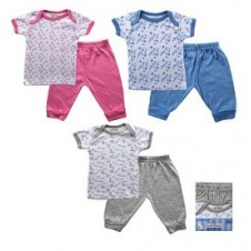 1 Set Tee Top & Pant (2pcs)