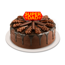 Father's Day Chocolate Indulgence Cake by Red Ribbon