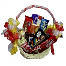 Assorted Chocolate Lover Basket 1