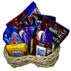 Assorted Chocolate Lover Basket 4