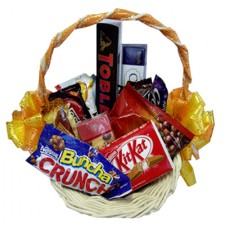 Assorted Chocolate Lover Basket 11