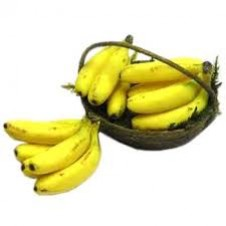 A Basket of Full Banana Fruits