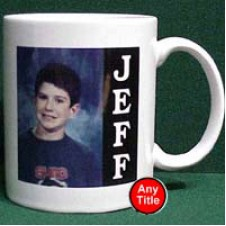 Personalized Ceramic Coffee picture Mug
