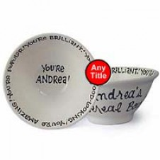 Personalized Ceramic Bowl (Single)