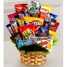 Chips & Chocos Gift Basket