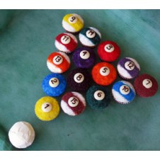 Billiard Balls Cupcakes by Cookie Blossoms