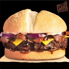 Bacon Angus Steakhouse Burger Meal by Burger King
