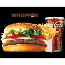 Whopper Meal by Burger King