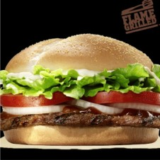 Classic Angus Steakhouse Burger Meal by Burger King