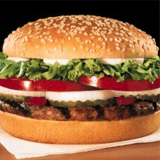 Whopper Junior Value Meal by Burger King