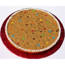 Butterscotch Chocolate Chip Cookie Cake by Cookie Blossoms