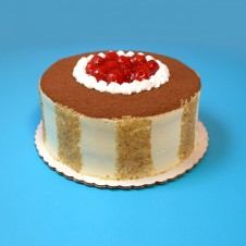 White Chocolate Cherry Truffle Cake by Cake2Go