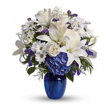 Beautiful in Blue in a Vase