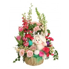 Bunny Blooms Basket