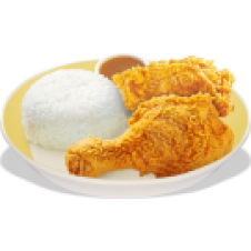 2-pcs. Chickenjoy by Jollibee