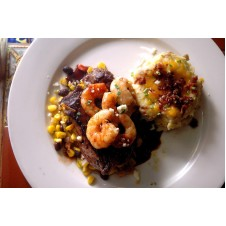 Glazed Shrimp Steak by Chili's