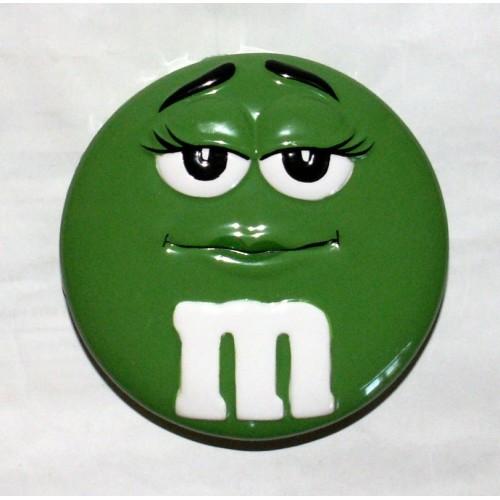 M&M's Candy Green Tin