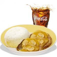 2-pcs. Burger Steak by Jollibee