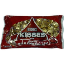 Hershey's Kisses: Milk Chocolate with Almonds