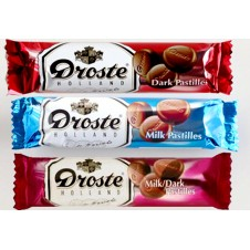 Droste Holland Pastilles 3 Assorted Chocolate Packs 85g each