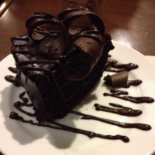 Classic Chocolate Cake by Starbucks