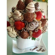Chocolate Cake with Coated Imported Chocolate by Wilma's Yummy Cake
