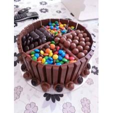 Maltesers Chocolate Cake by Wilma's Yummy cake