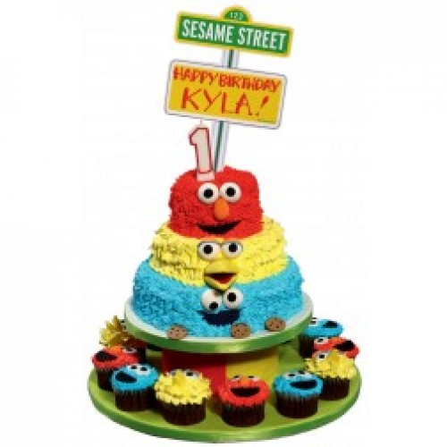 Cars Cake Design Red Ribbon Bjaydev for