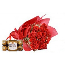 Flower Of Admiration with Ferrero Rocher