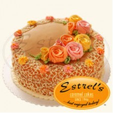 Round Cake Butter Icing by Estrel's
