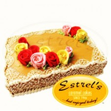Caramel Cake Rectangular by Estrel's
