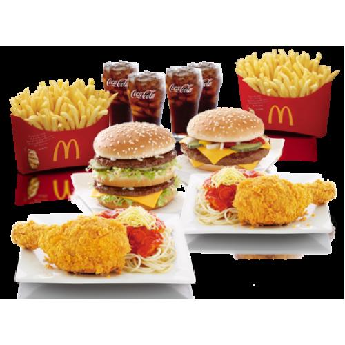 mcdonalds product mix