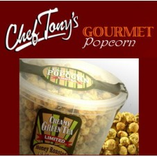 Creamy Green Tea Flavored Popcorn by Chef Tony's Creamy Green Tea Flavored Popcorn by Chef Tony's