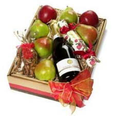 Let's Celebrate Fruit Gift Box with Grape Juice